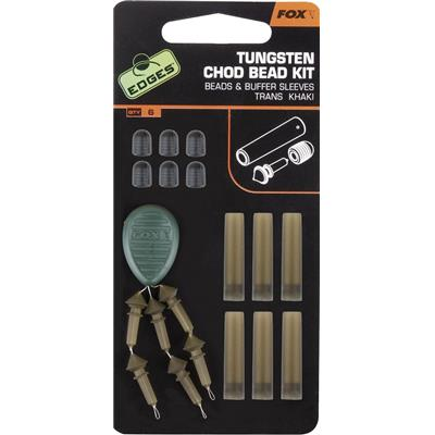 Fox Edges Tungsten Chod Bead Kit X 6