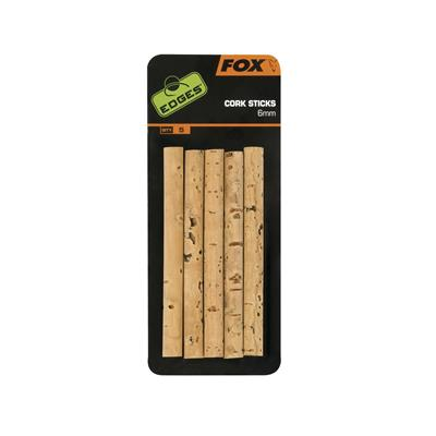 Fox Edges 6mm Cork Sticks x 5pcs