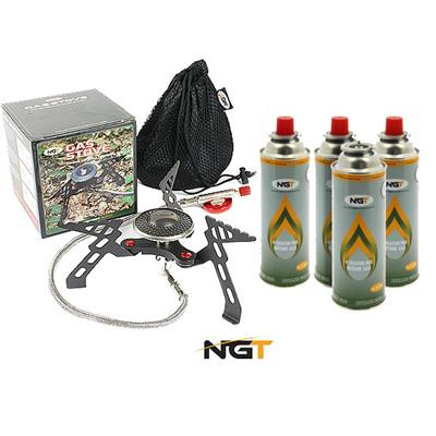 Kit réchaud à gaz NGT
